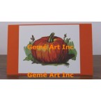 Pumpkin Note Card  - #CardT221  -  NOTE CARD