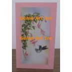 Hummingbird Note Card  - #CardIQ218-6  -  NOTE CARD