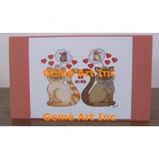 Be Mine Note Card  - #CardLG313  -  NOTE CARD
