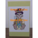 Easter Note Card  - #CardLG318  -  NOTE CARD