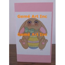 Easter Note Card  - #CardLG319  -  NOTE CARD