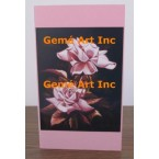 Pink Rose Note Card  - #CardLG605  -  NOTE CARD