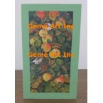 Bird & Apples Note Card  - #CardMQ617-6  -  NOTE CARD