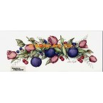 Tulips & Plums Garland  - ZOR824  -  PRINT