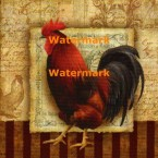Prize Rooster II  - #XXKP12986  -  PRINT