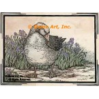 Antique Goose  - #YOR15  -  PRINT