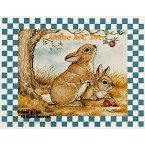 Country Hare  - #YOR8  -  PRINT