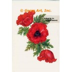 Three Poppies  - #SOR50  -  PRINT