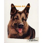 German Shepherd  - #IOR103  -  PRINT