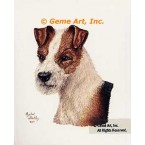 Wire-Haired Terrier  - #IOR111  -  PRINT