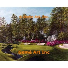 13th Hole at Augusta  - IOR186  -  PRINT