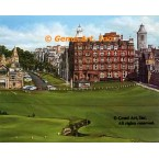 St. Andrews Golf Club, 18th Hole, Scotland, UK  - IOR225  -  PRINT