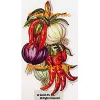 Onions & Peppers  - TOR253  -  PRINT