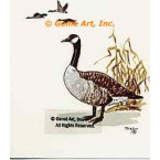 Canadian Geese  - #TOR295  -  PRINT