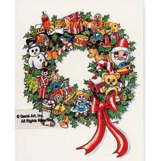 Christmas Wreath  - TOR876  -  PRINT