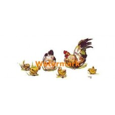 Chickens  - #TOR3522  -  PRINT