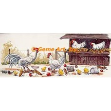 Chickens  - #TOR5069  -  PRINT