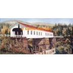 Mapleton Covered Bridge  - ROR204  -  PRINT