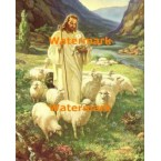 The Lord Is My Shepherd  - #XRKB53  -  PRINT