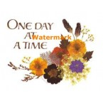 One Day At A Time  - XBKM741  -  PRINT