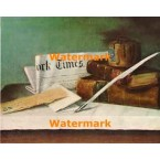 Still Life With Letter  - XBMC63  -  PRINT