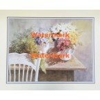 Table of Daisies  - XKVH5651  -  PRINT