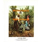 At The Well  - #XK1975-A  -  PRINT