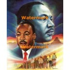 Martin Luther King  -  #XKL3505  -  PRINT