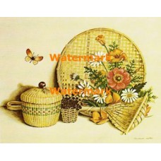 Daisies in Woven Items  - XS5123  -  PRINT