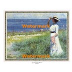A Young Woman on The Shore  - #XD51194  -  PRINT
