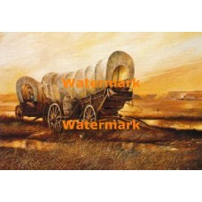 Covered Wagon  - #XD52001  -  PRINT