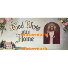 God Bless our Home  - XBRE37  -  PRINT