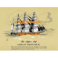 Great Republic  - XD5452  -  PRINT