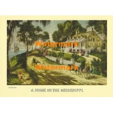 A Home on the Mississippi  - XBCI-9  -  PRINT