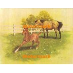1.  Mother And Foal  - #XKL8296  -  PRINT