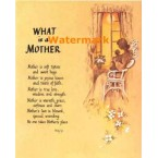 What Is A Mother  - #XS3292  -  PRINT