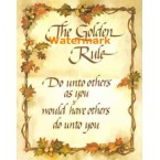 The Golden Rule  - #XS6324  -  PRINT