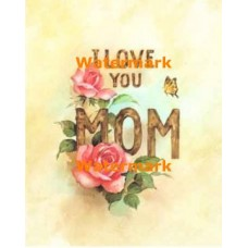 I Love You Mom  - XS8944  -  PRINT