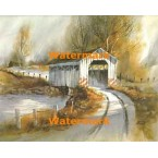N Conan Covered Bridge  - #XS5199  -  PRINT