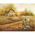 Homes & Mailboxes  - #XS3423  -  PRINT