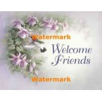 1.  Welcome Friends  - #XS19957  -  PRINT