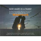God Made Us A Family  - #XS5727  -  PRINT