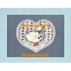 Country Heart  - #XS10042  -  PRINT