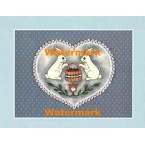 Country Heart  - #XS10043  -  PRINT