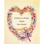 Home Is  - #XS12267  -  PRINT