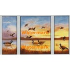 Geese  - #XSTT13252-53-54  -  TRIPTYCH PRINTS